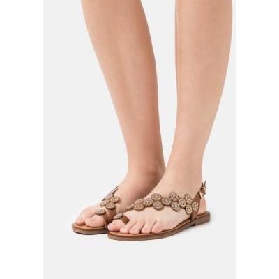タタ イタリア サンダル レディース シューズ T-bar sandals - brown