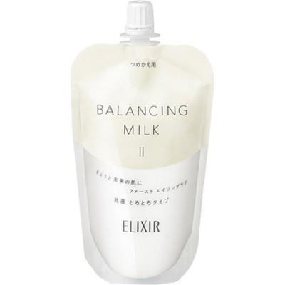 資生堂 エリクシール ルフレ バランシング ミルク II (つめかえ用) 乳液 (110ml)