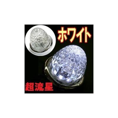ターンオリジナルLEDマーカーランプ 超流星LEDマーカーランプ DC12/24V共用(ホワイト)