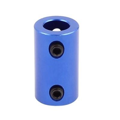 uxcell カプラージョイント アルミ合金製ジョイント モーター シャフト クランプ ブルー