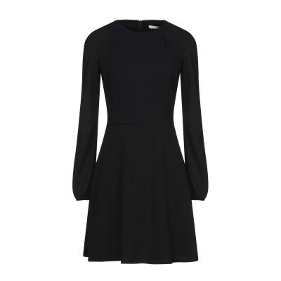 レリッシュ RELISH ミニワンピース&ドレス ブラック 46 ポリエステル 95% / ポリウレタン 5% ミニワンピース&ドレス