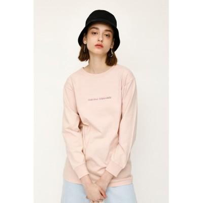 【スライ】 MELLOW L/S Tシャツ レディース L/PNK1 FREE SLY