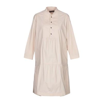ツインセット シモーナ バルビエリ TWINSET ミニワンピース&ドレス ベージュ 40 コットン 97% / ポリウレタン 3% ミニワンピース