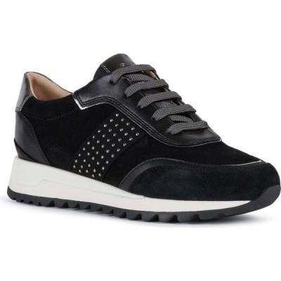 ジェオックス GEOX レディース スニーカー シューズ・靴 Tabelya Sneaker Black Leather
