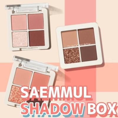 ザセムセンムルシャドウボックス 0.9g*4 [The Saem] Saemmul Shadow Box 0.9g*4