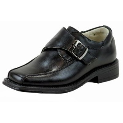キッズ シューズ Easy Strider Boys 37417 Performance Fashion Loafer Black School Uniform Shoes
