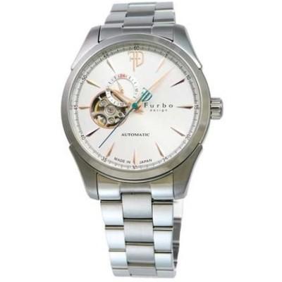 フルボデザイン Furbo design 腕時計 メンズ ウォッチ ブランド 日本製自動巻き 機械式時計 スケルトン f5029siss