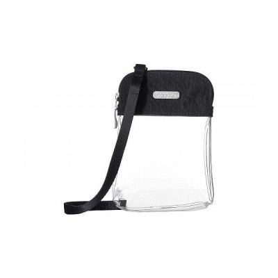Baggallini バッガリーニ レディース 女性用 バッグ 鞄 バックパック リュック Legacy Stadium Bags Clear Bryant Crossbody - Charcoal