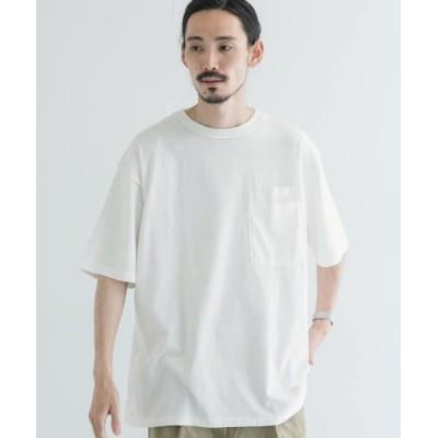 URBAN RESEARCH/アーバンリサーチ 【別注】velva sheen×URBAN RESEARCH オーバーT-SHIRTS WHITE M