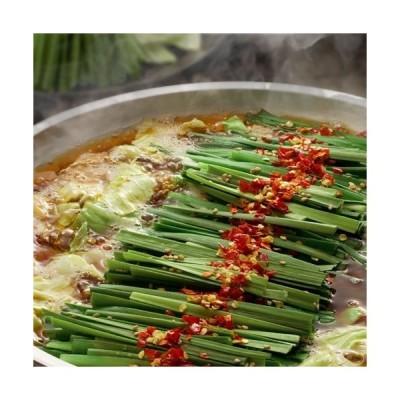 【博多→直送】 博多もつ鍋 しょう油 2人前  (さっぱり あごだしスープ、やわらかお肉、唐辛子、ニンニク)