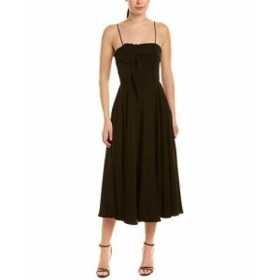 Jay Godfrey ジェイゴッドフリー ファッション ドレス Jay Godfrey Midi Dress 10 Black