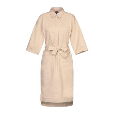 LORENA ANTONIAZZI ミニワンピース&ドレス ベージュ 40 コットン 98% / ポリウレタン 2% ミニワンピース&ドレス