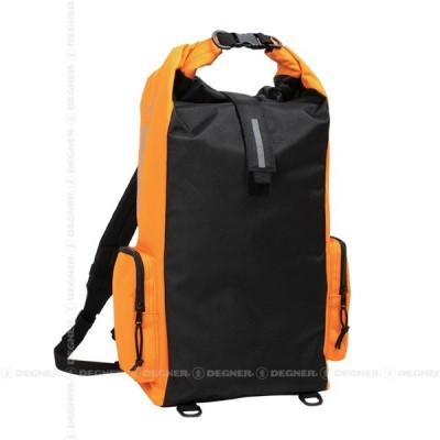 4524486055850  送料無料  DEGNER デグナー    防水バッグ マルチレインバッグ/MULTI RAIN BAG ブラック/オレンジ   NB-83-BKOR    WE