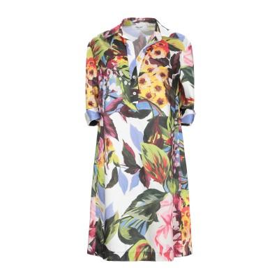 ブルーガール ブルマリン BLUGIRL BLUMARINE ミニワンピース&ドレス グリーン 50 ポリエステル 100% ミニワンピース&ドレス