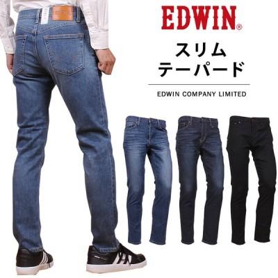 SALE EDWIN エドウィン スリムテーパード メンズ ジーンズ エドウイン ストレッチ E0432