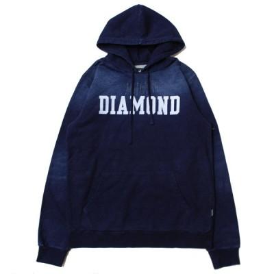 ダイヤモンドサプライ DIAMOND SUPPLY CO DREXEL HOODIE INDIGO/インディゴ デニム フード パーカー