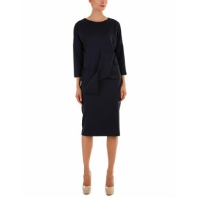 ファッション ドレス Andrea Crocetta Wool-Blend Dress M