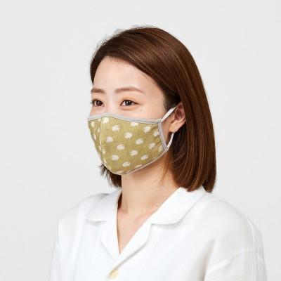天然素材で積層仕立て シルクと綿の動物マスクの会 フェリシモ FELISSIMO