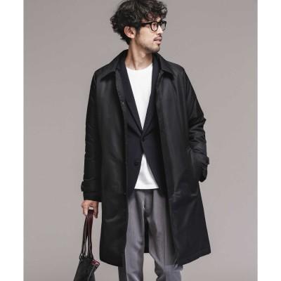 《WEB限定》[暖トリオ]ハイブリッドダウンステンカラーコート ブラック