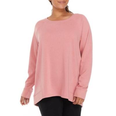 ゼロス レディース パーカー・スウェット アウター Plus Size Dolman Sweatshirt