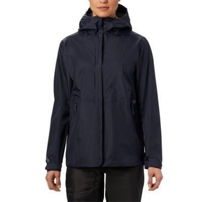 マウンテンハードウェア レディース ジャケット&ブルゾン アウター Mountain Hardwear Acadia Jacket - Women's Dark Zinc