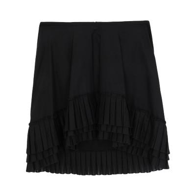 ドンダップ DONDUP ミニスカート ブラック 44 コットン 100% ミニスカート