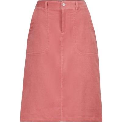 アーペーセー A.P.C. レディース ひざ丈スカート スカート jennie corduroy midi skirt Vieux Rose
