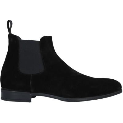デュカルス DOUCAL'S ショートブーツ ブラック 42 革 ショートブーツ