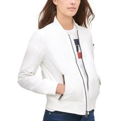 リーバイス ジャケット&ブルゾン アウター レディース Trendy Plus Size  Melanie Bomber Jacket White