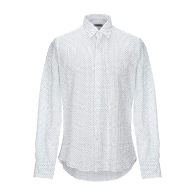 BATURO シャツ アジュールブルー 42 コットン 100% シャツ