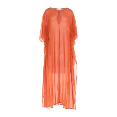 ツインセット シモーナ バルビエリ TWINSET ビーチドレス オレンジ XL ポリエステル 100% ビーチドレス