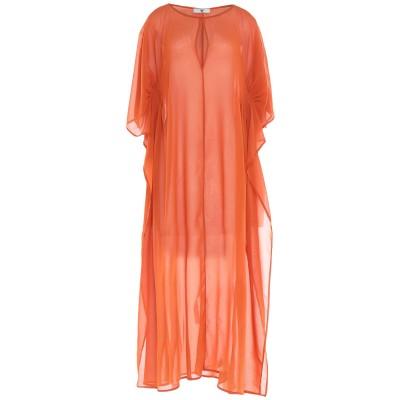 ツインセット シモーナ バルビエリ TWINSET ビーチドレス オレンジ M ポリエステル 100% ビーチドレス