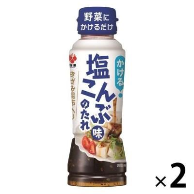 かける 塩こんぶ味のたれ 235g 2本 盛田 塩昆布