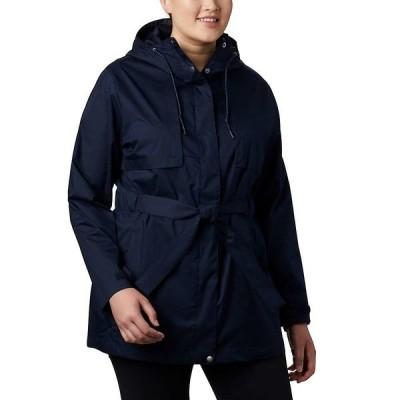 コロンビア ジャケット・ブルゾン レディース アウター Columbia Women's Pardon My Trench Rain Jacket Dark Nocturnal