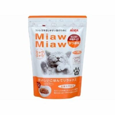 MiawMiawカリカリ小粒タイプ かつお味 580g