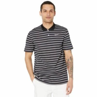 ナイキ Nike Golf メンズ ポロシャツ トップス Dry Victory Polo Stripe Black/Gridiron/White/White