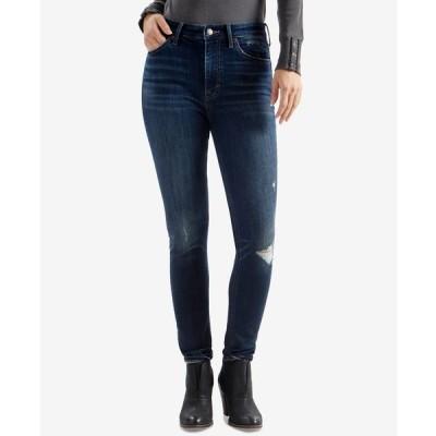 ラッキーブランド デニムパンツ ボトムス レディース Bridgette Skinny Ripped Jeans Lonestar Destruction