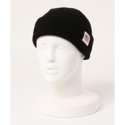 帽子 キャップ USAタグニット帽