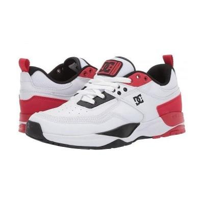 DC ディーシー レディース 女性用 シューズ 靴 スニーカー 運動靴 E.Tribeka Women's - White/Red/Black