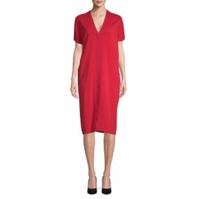 ランバン レディース ワンピース Short-Sleeve Shift Dress
