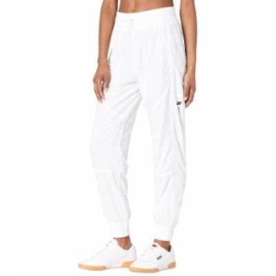 フィラ レディース カジュアルパンツ ボトムス High Intensity Windpants White/Black