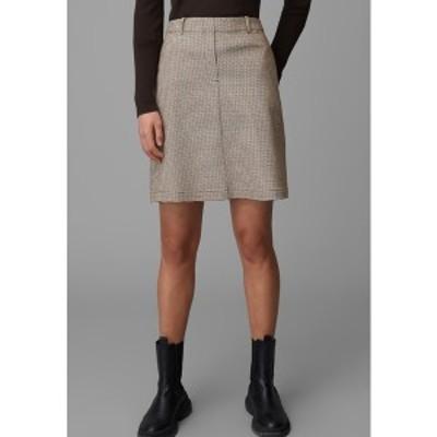 マルコポーロ レディース スカート ボトムス A-line skirt - brown brown