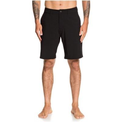 クイックシルバー Quiksilver メンズ ショートパンツ ボトムス・パンツ union amphibian 20 hybrid shorts Black