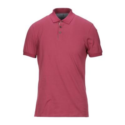 ブルネロ クチネリ BRUNELLO CUCINELLI ポロシャツ ガーネット S コットン 100% / レーヨン ポロシャツ