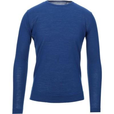 ボクー ..,BEAUCOUP メンズ ニット・セーター トップス sweater Blue