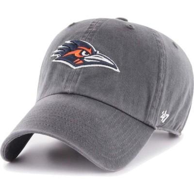フォーティセブン 47 メンズ キャップ 帽子 UT San Antonio Roadrunners Grey Clean Up Adjustable Hat
