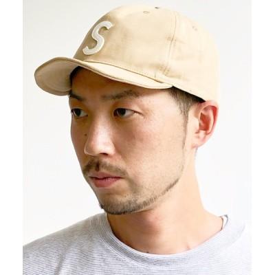yield / 【Basiquenti】Spring Logo Short Cap BCN-Y11643 MEN 帽子 > キャップ