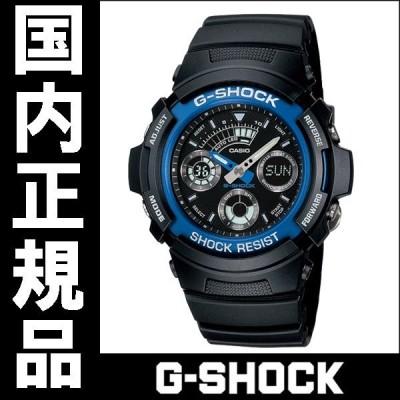 AW-591-2AJF カシオ G-SHOCK アナログデジタル 正規 送料無料