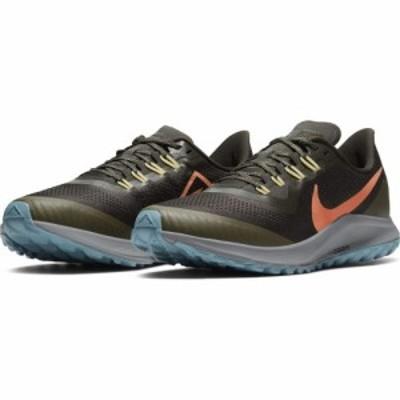Nike ナイキ メンズ 男性用 シューズ 靴 スニーカー 運動靴 Air Zoom Pegasus 36 Trail Sequoia/Orange Trance/Medium Olive【送料無料】