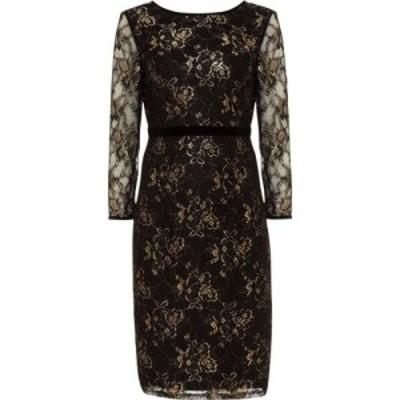 フェイズ エイト Phase Eight レディース ワンピース ワンピース・ドレス Jules Lace Dress With Sleeve Black